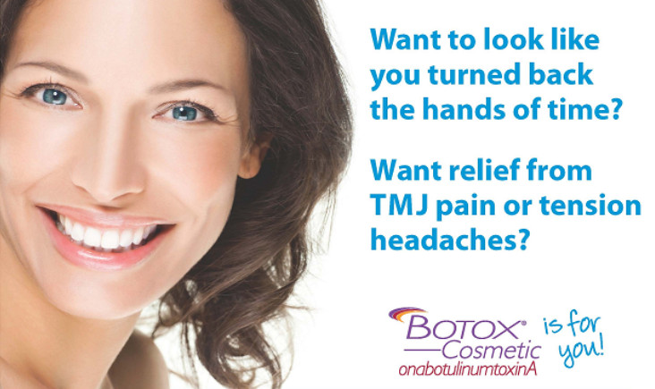 Botox For Dental and Facial Pain Treatment